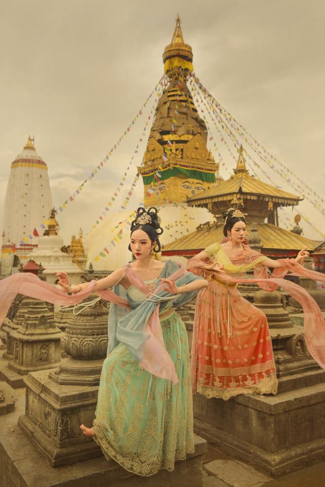 尼泊尔古风人像